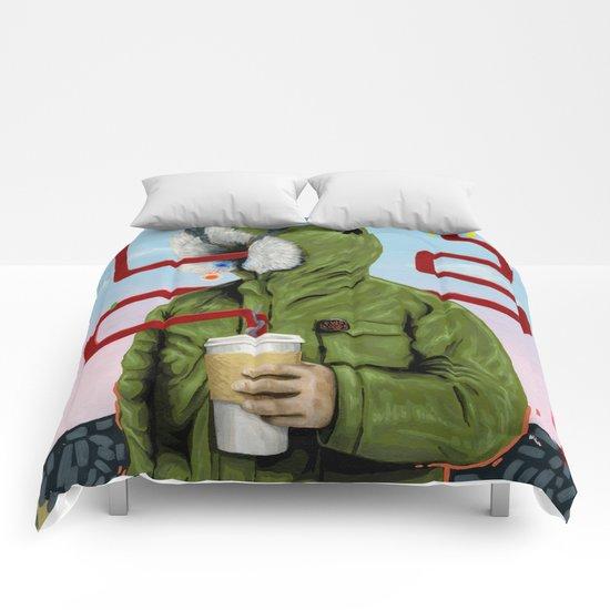 Caffeine Boost Comforters