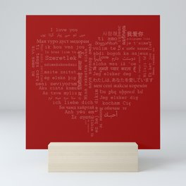 I Love You Mini Art Print