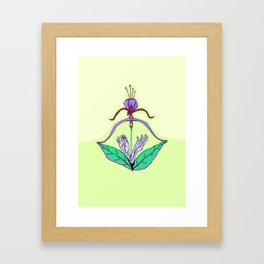 Archery Blossoming Framed Art Print