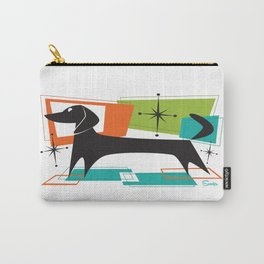 Mister Peepers Retro Mid Century Modern Design Carry-All Pouch