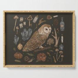 Harvest Owl Serving Tray