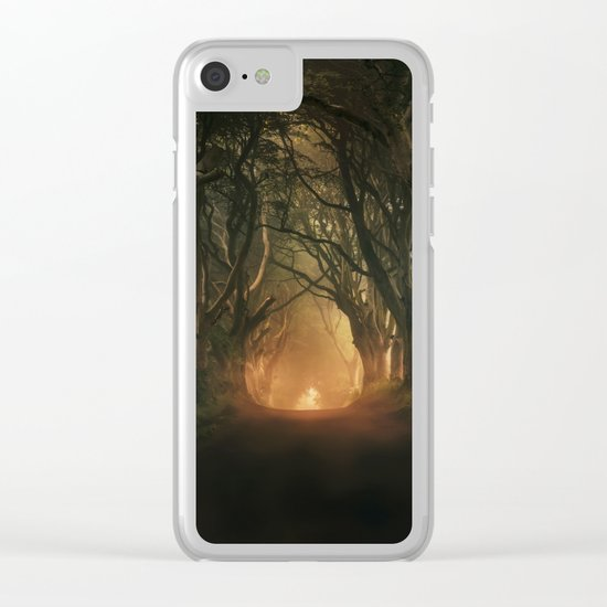 When the day begins... Clear iPhone Case
