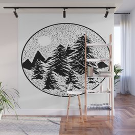 TreeS Wall Mural