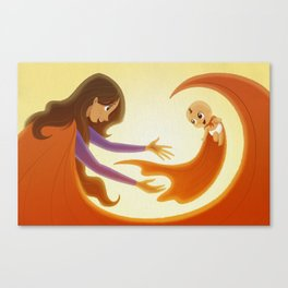 Supermom! Canvas Print