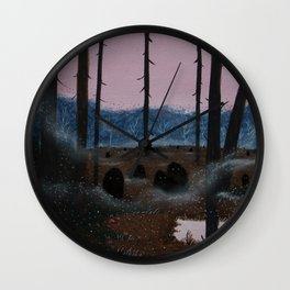 Lurkers Wall Clock