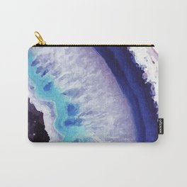 Violet Agate Art 2 Carry-All Pouch