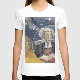 La Belle Angele by Paul Gauguin T-shirt