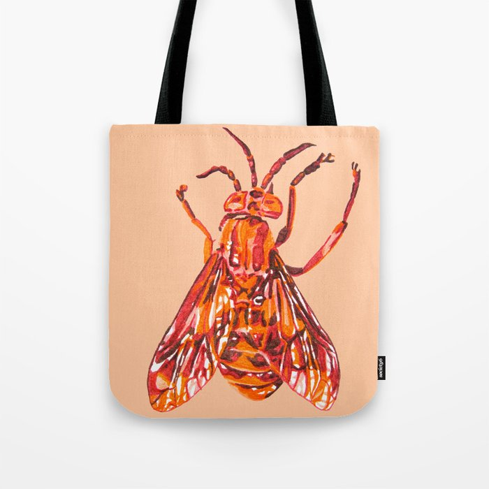 Horse Fly Tote Bag