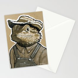 Lenny Lizard Stationery Cards