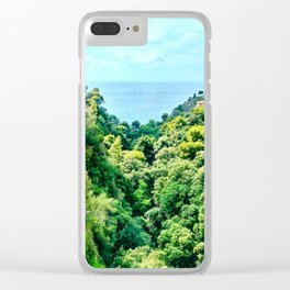 Lush Nature Clear iPhone Case