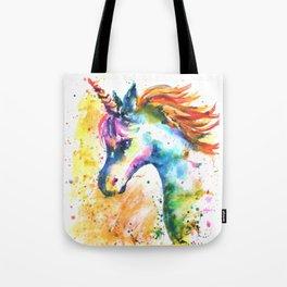 Unicorn Splash Tote Bag