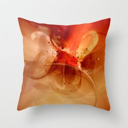 ... and do not lead me into temptation Throw Pillow