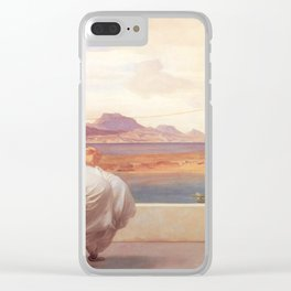 Winding the Skein - Frederic Leighton Clear iPhone Case