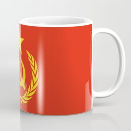 Russian Communist Flag Hammer & Sickle Coffee Mug