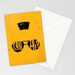 Taxi Driver - you talking to me? Stationery Cards