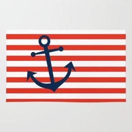 Nautical Anchor Rug