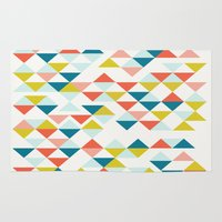 colombia Area & Throw Rugs featuring Colombia by Menina Lisboa