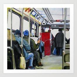 501 Streetcar Eastbound Art Print