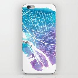 Buffalo, NY City Grid iPhone Skin