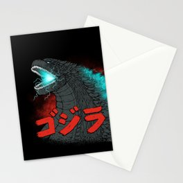 Mighty Kaiju Gojira Stationery Cards