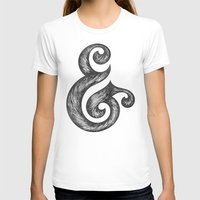 ampersand T-shirts featuring Ampersand by Norman Duenas