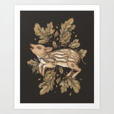 Almost Wild, Foundling Art Print