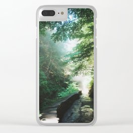 Into The Mist 1 Clear iPhone Case