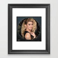 Tori Kelly (Unbreakable Smile Fan Art) Framed Art Print