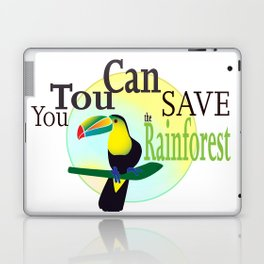 You TouCan Save The Rainforest Laptop & iPad Skin