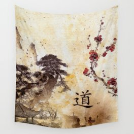 Tao Te Ching Wall Tapestry