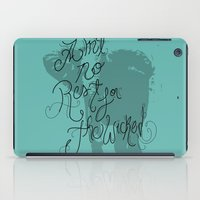 wicked iPad Cases featuring Wicked by Caitlin Victoria Parker