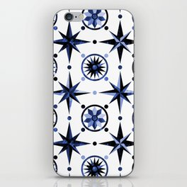 Nautica Blue iPhone Skin