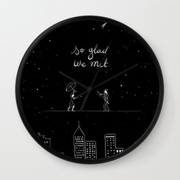 We met Wall Clock
