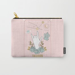 Taurus Zodiac Series Carry-All Pouch