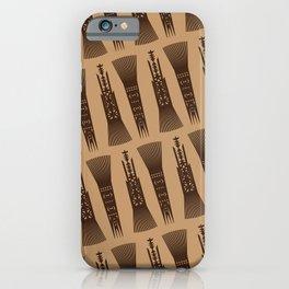UrbanNesian Samoan Selu (Samoan Comb) iPhone Case