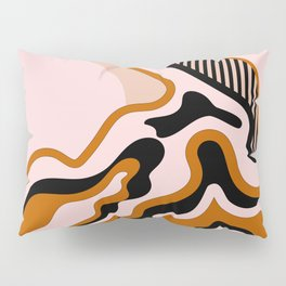 Beautiful Journey - Caramel and Cream Pillow Sham