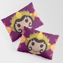 Surakarta Traditional Headdress Pillow Sham