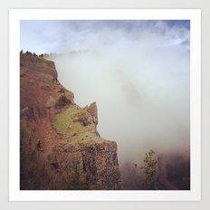 Heartbreak Ridge, Table Mountain WA 2 Art Print