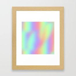 Holla-gram Framed Art Print