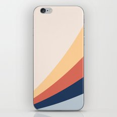 Abstract modern geometrical print color iPhone Skin
