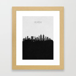 City Skylines: Mumbai Framed Art Print
