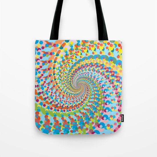 Colour Mix Spiral Tote Bag