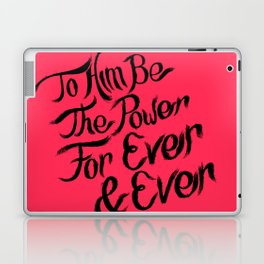 1st Peter lllustrated Poster  Laptop & iPad Skin