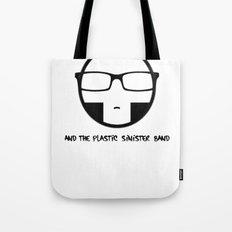 Plastic Sinister Band Logo Tote Bag
