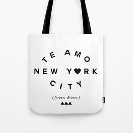 TE AMO NEW YORK CITY (forever & ever) Tote Bag