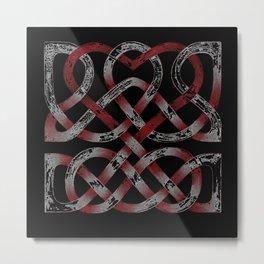Distressed Heart Metal Print