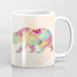 Abstract Bear Coffee Mug