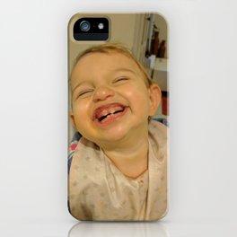 Happy Kid iPhone Case