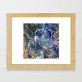 Black Opal Framed Art Print