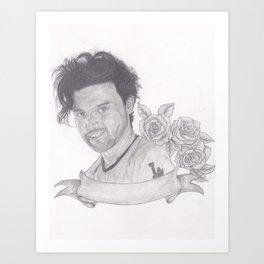 Ryan Ross Art Print